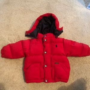 Ralph Lauren Bubble Jacket Unisex Size 12 month
